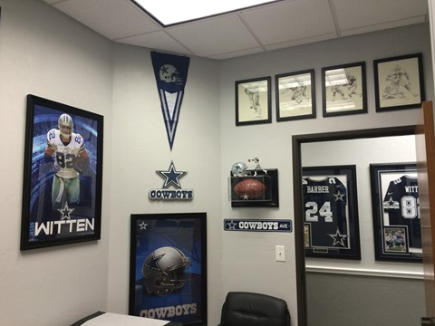 Dallas Cowboys Room